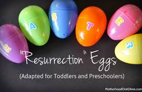 easter resurrection eggs preschool easter story eggs and poem kids activities saving