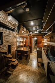 tiny home interior ideas the rook an industrial chic tiny house deigned and built by wind