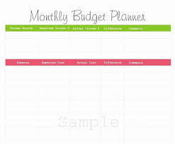 printable budget planner template free monthly budget planner best of best s of free printable bud planner