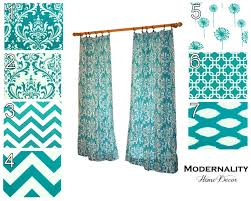 Turquoise Blackout Curtains Living Room Turquoise Curtains For Living Room Home Design