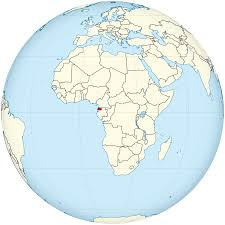 Guinea Africa Map by File Equatorial Guinea On The Globe Africa Centered Svg