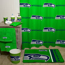 Bathroom Accessory Sets With Shower Curtain by Nfl Seattle Seahawks Decorative Bath Collection Shower Curtain