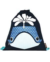 coq en pâte whale kids soft backpack bag 100 organic cotton 37