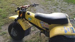 yamaha yt175 2 stroke 3 wheeler atv1 youtube