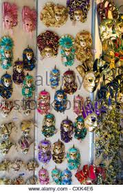 venetian mask for sale venetian masks for sale in a tourist shop in venice italy stock
