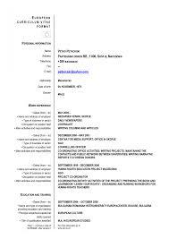 Resume Vs Vita 28 Curriculum Vitae New Format Resume 2016 Formatgreat How To