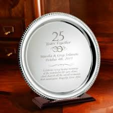 25th anniversary plates personalized top fall wedding and anniversary trends memorable gifts