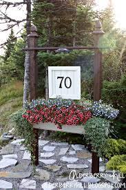 alderberry hill house number sign my outside spot pinterest