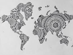 world map image drawing happy day xoxo ms optimist drawings paintings