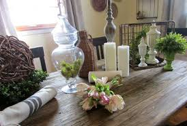 rustic spring table decorations