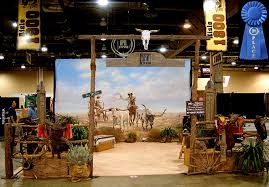 themed photo booth dallas convention services western props western theme trade