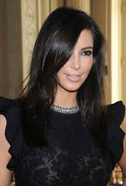 of kim kardashian long hairstyles ideas