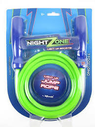 light up jump 7 long light up jump night zone led skip hop skipping glow