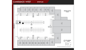 site plan camelback west with suites rein u0026 grossoehme