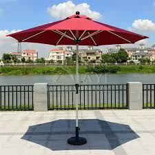 Sun Umbrella Patio Aliexpress Buy 2 7 Meter Steel Iron Duplex Outdoor Sun