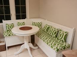 Bench Seat Cushion Interior Comfortable Cream Indoor Bench Cushions With Oak Wood