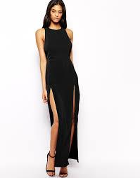 aq aq dresses aq aq aq aq maxi dress with thigh split where to buy