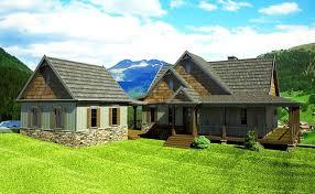 farmhouse plans with porch wrap porch house plans home act