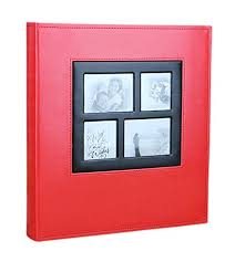 high capacity photo albums remeehi high capacity photo album 400 pocket leather cover vintage