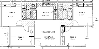 Typical Floor Plans Of Apartments Housing Brenham Campus Apartments Blinn College