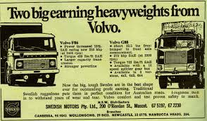volvo truck parts australia historic trucks volvo advertisements from 1972