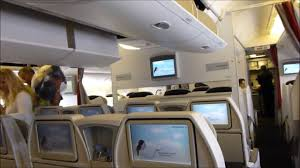 siege plus air whole flight air premium economy boeing 777 300er