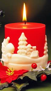red christmas candle android wallpaper best andro wallpapers
