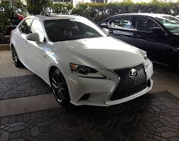 white lexus 2010 my baby has arrived is250 f sport ultra white roja red