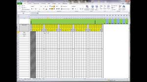 staff holiday planner excel template easy planner 2014 youtube easy planner 2014
