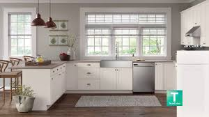 arcadia white kitchen cabinets lowes now s top door style arcadia