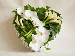 floral arrangements for funeral orchid heart funeral floral arrangement funeral service floral