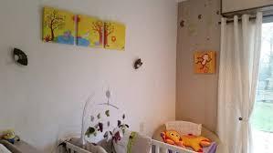 chambre bébé promo chambre bebe decoree avec des tableaux sur le tha me la jungle