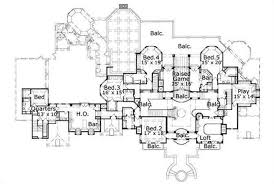 7 bedroom house plans luxury house plans french home design ohp 981421 19719