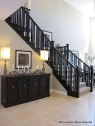 How To Paint A Banister Black Diy How To Stain And Paint An Oak Banister Spindles And Newel