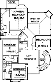 European Floor Plans Kemper Hill Mountain Home Plan 101s 0003 House Plans And More