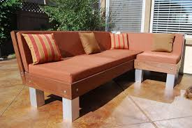 Diy Outdoor Sectional Sofa Outdoor Sectional Couch By Ray Lumberjocks Com Woodworking