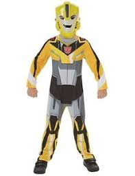 child official transformers bumble bee superhero fancy dress