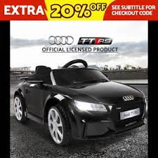 audi tt remote car ride on car licensed audi tt rs battery electric sport