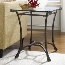 wedge shaped end table end tables strong wrought iron wedge shaped end table with glass