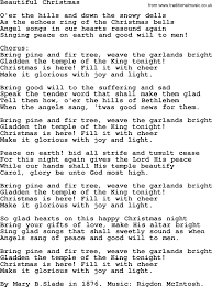 christmas powerpoints song beautiful christmas slade lyrics