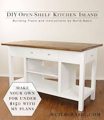 how to make your own kitchen island with cabinets 25 gorgeous diy kitchen islands to make your kitchen run