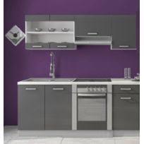 cuisine gris laque cuisine gris laque achat cuisine gris laque pas cher rue du commerce