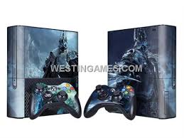 xbox e console skin sticker colourful for xbox 360 e console w 2