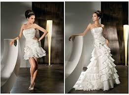 convertible mermaid wedding dress convertible wedding dress chic 2 in 1 dresses for all events
