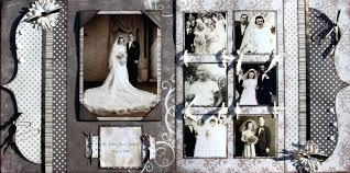 Vintage Scrapbook Album Brown Paper Vintage Wedding Scrapbook Page Ideas Album U2013 Citygates Co