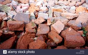 heap of bricks in the house site near vienna stock photo royalty