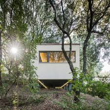Modern Landscape Outbuilding Of The Week A Sardinian Guest House In The Trees