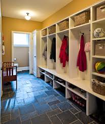 mudroom with slate floor traditional entry ottawa by