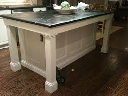 kitchen islands with legs kitchen island legs furniture design and home decoration within