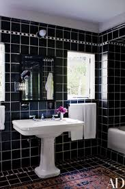 luxury bathroom interior design ideas with retro tile